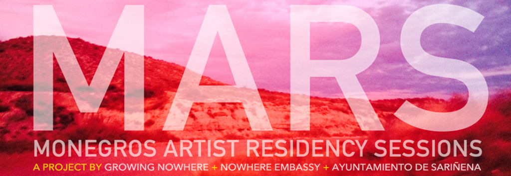 MARS 2019 - Monegros Artist Residency Sessions: | A project by Burningmax