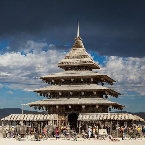 The Temple – Burning Man 2016