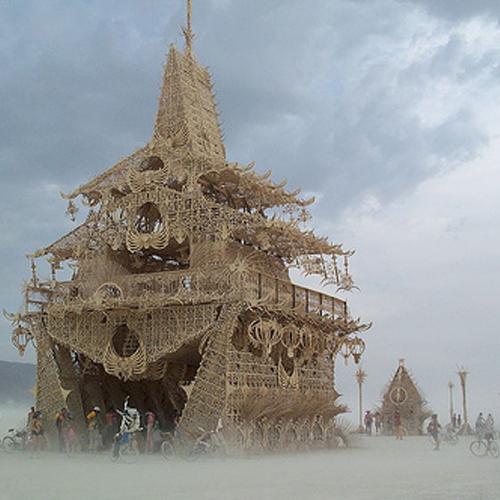 Temple of Joy – Burning Man 2002