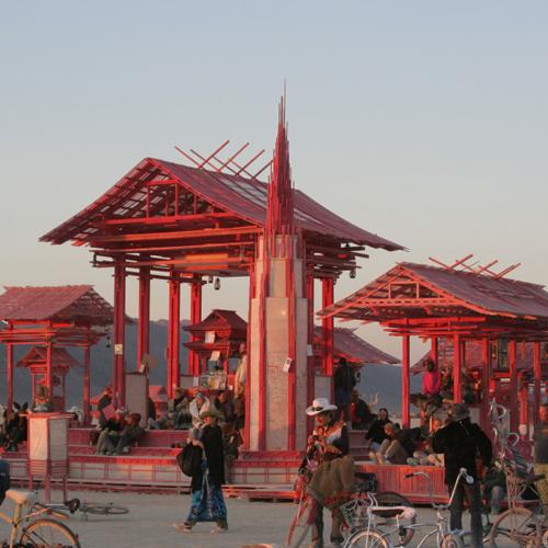 Temple of Dreams – Burning Man 2005