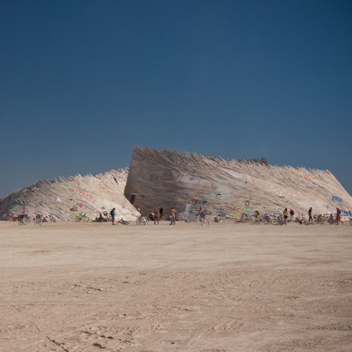 Temple of Flux – Burning Man 2010