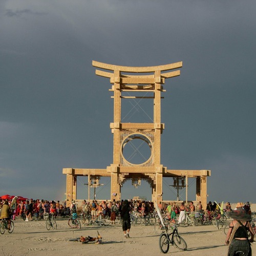 Temple of Forgiveness – Burning Man 2007