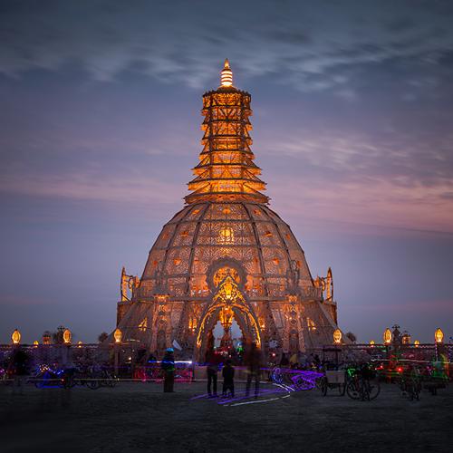 Temple of Grace – Burning Man 2014