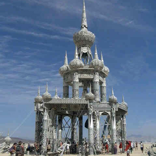 Temple of Honor – Burning Man 2002