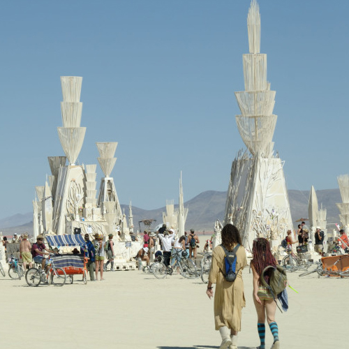 Temple of Hope – Burning Man 2006