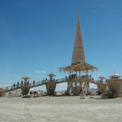 Temple of Stars – Burning Man 2004