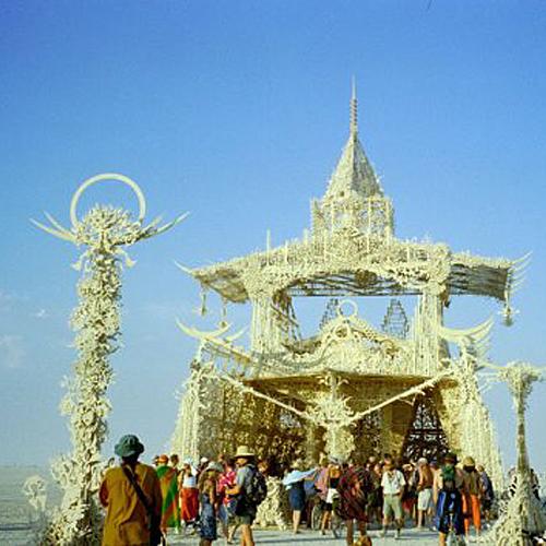 Temple of Tears – Burning Man 2001
