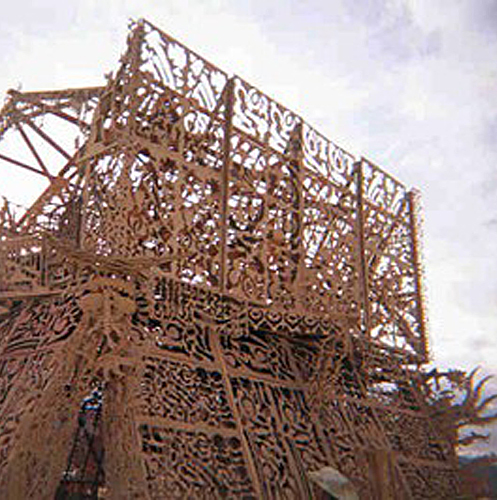 Temple of the Mind – Burning Man 2000