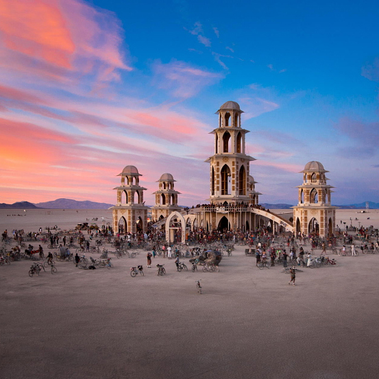 Temple of Transition – Burning Man 2011