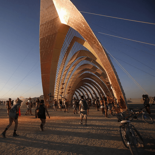 Temple of Promise – Burning Man 2015