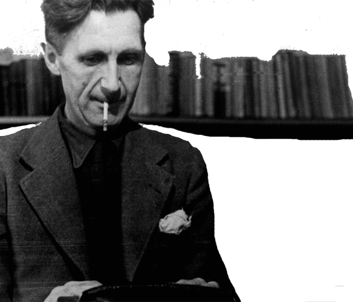 George Orwell - Monegros - closeup