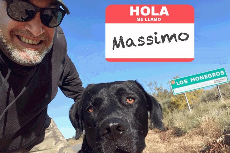 Massimo Burgio Burningmax y Davola en Los Monegros