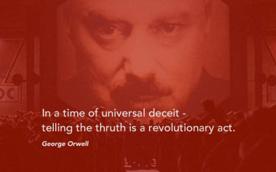 """George Orwell's Inspirational Quotes from """"Homage to Catalonia"""", """"1984"""" and more"""