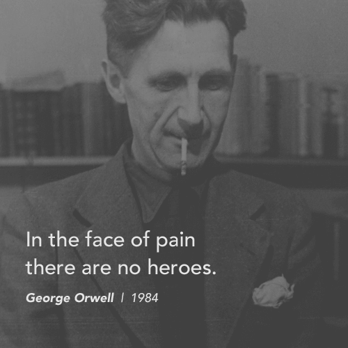 """1984 George Orwell Quotes: George Orwell's Inspirational Quotes From """"1984"""""""