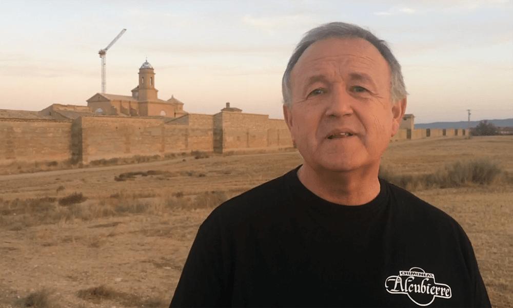 Presentación del Proyecto por el Concejal de Cultura del Ayuntamiento de Alcubierre