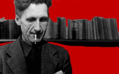 Un tributo a George Orwell | Un proyecto de land art de Burningmax