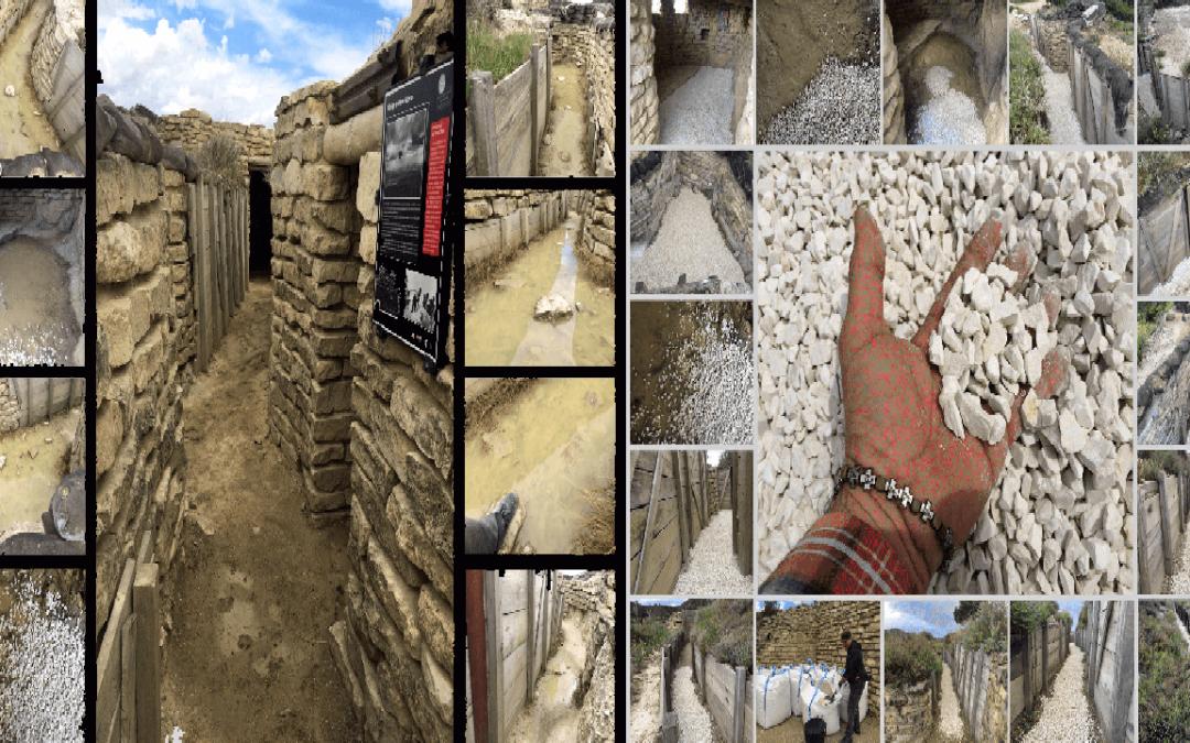 Instalación de Arte en las Trincheras de la Ruta Orwell: una Operación de Recupero, y no solo de la Memoria Histórica