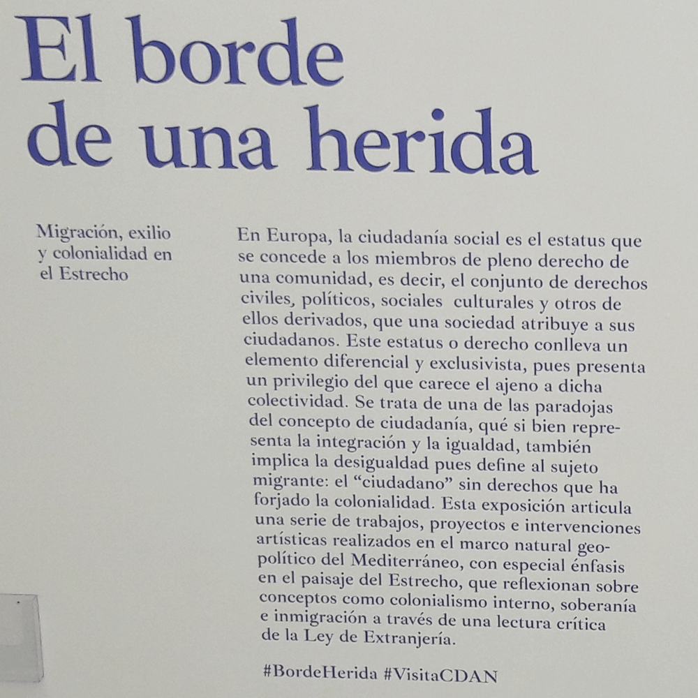 Al Borde de una Herida #BordeHerida - CDAN Museum Huesca
