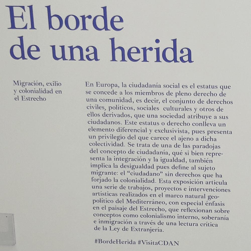 Al Borde de una Herida #BordeHerida - CDAN Museum Huesca