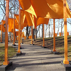 Project Inspiration #2: The Gates, Christo + Jeanne-Claude, NYC