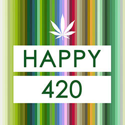 Happy 4:20 on 4/20 from 50 Shades of Green