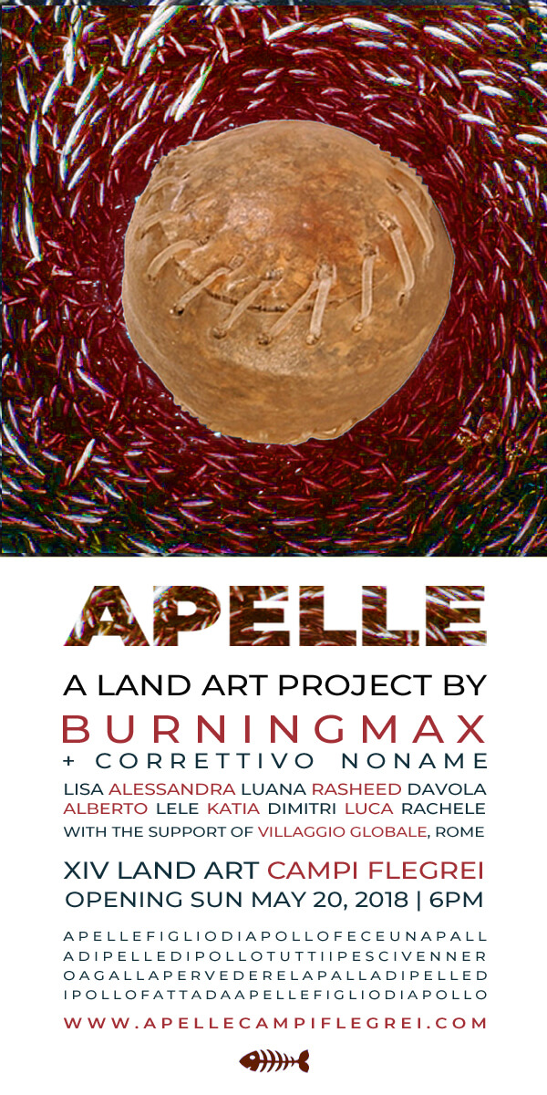 Apelle | A Land Art project by Burningmax | Opening date
