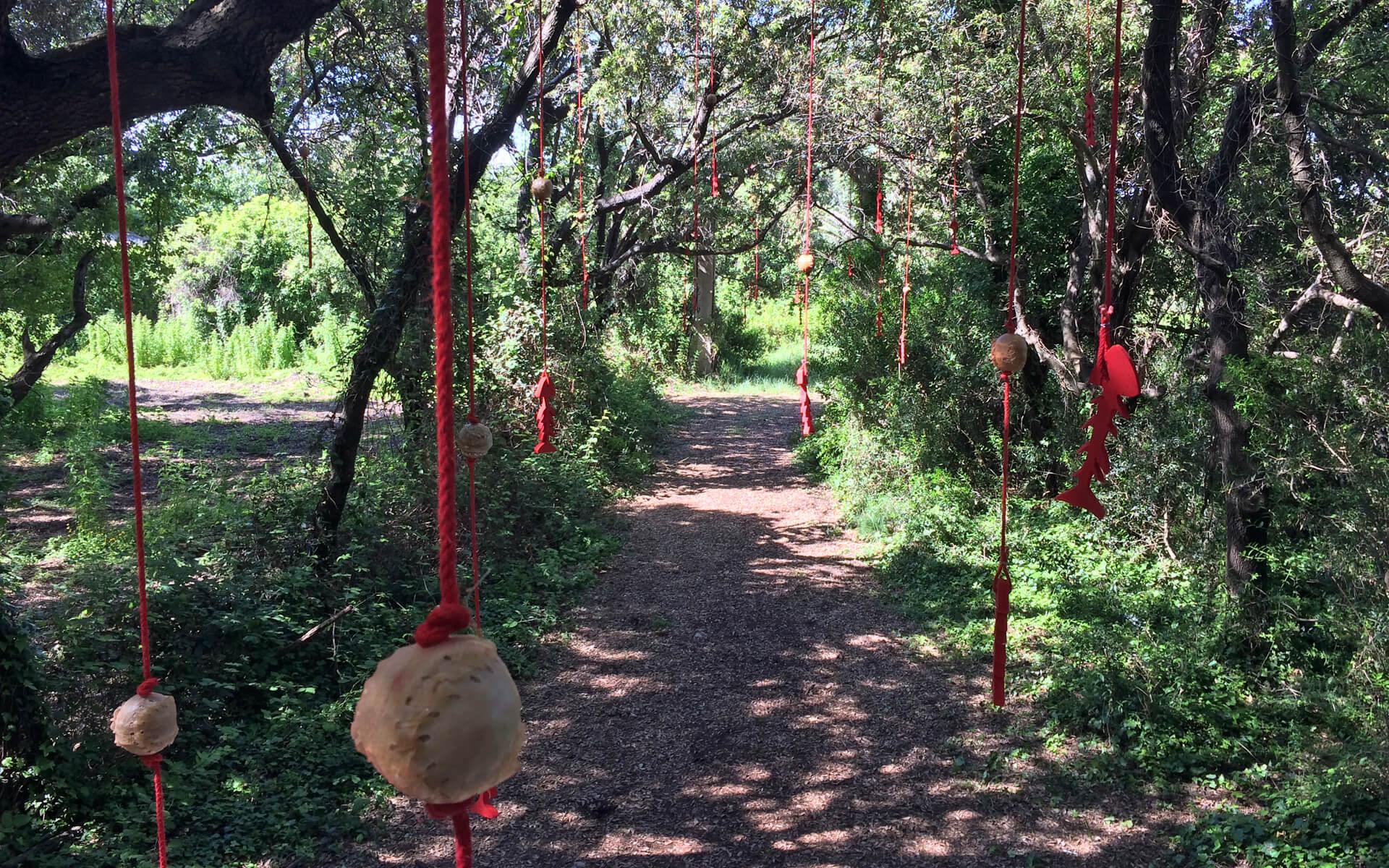 Apelle   Land Art Installation by Burningmax   XIV Land Art Campi Flegrei