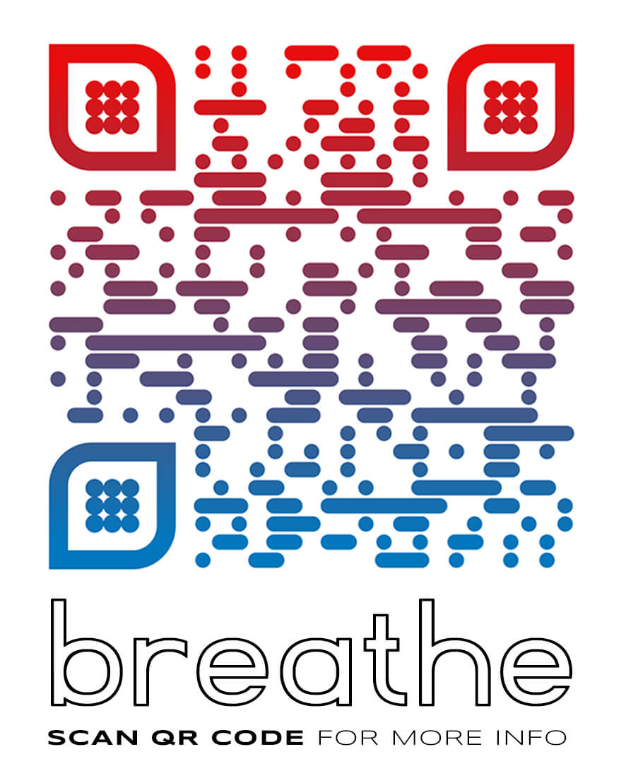 Burningmax: Breathe | Art installation | Villa Ada lake, Rome Italy | QR CODE