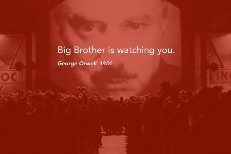 "George Orwell's Inspirational Quotes from ""1984"" - Orwell Monegros Project"