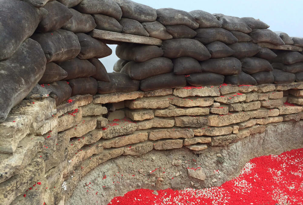 The Art Installation at the Orwell Trenches is Complete [Photo Gallery + Video Walkthrough]
