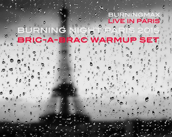 Burningmax Live :: :: Burning Night Paris pre-Party