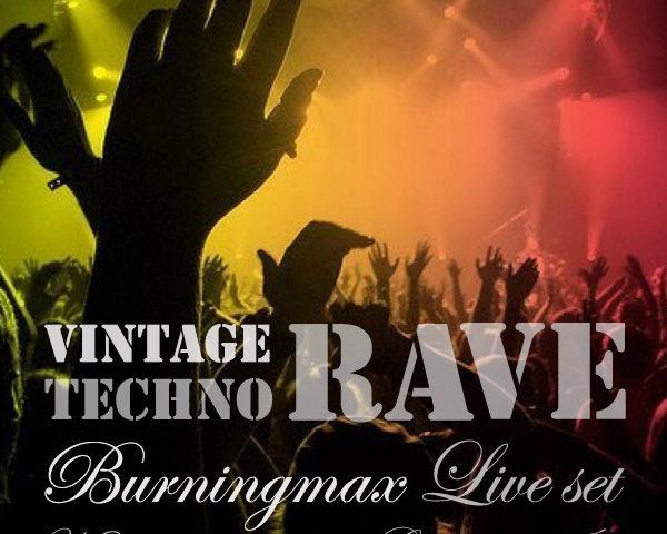 Burningmax Live @ Nowhere 2016 :: Vintage Techno Rave