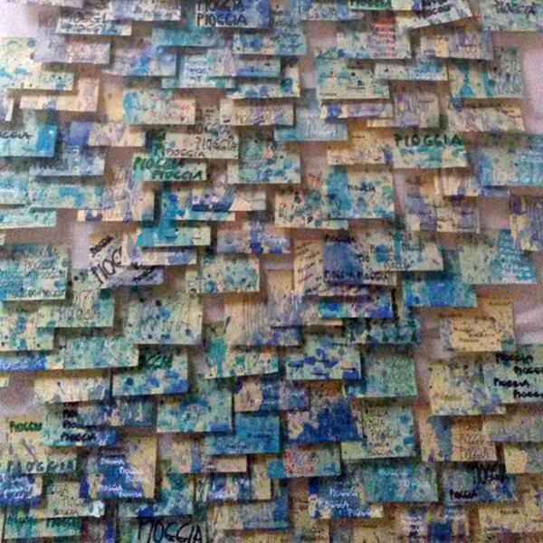 Post-it Art   Rain (Pioggia) - 1994