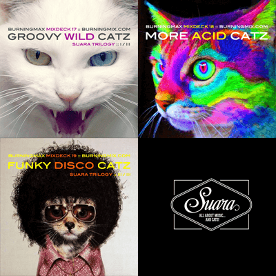 Burningmax special projects :: Suara Trilogy