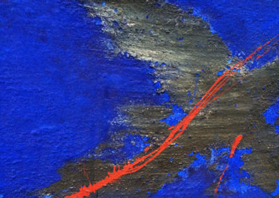 Early Works | Blue Cross (detail) - 1996