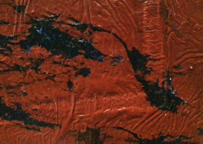 Early Works | Industrial red (detail) - 1995