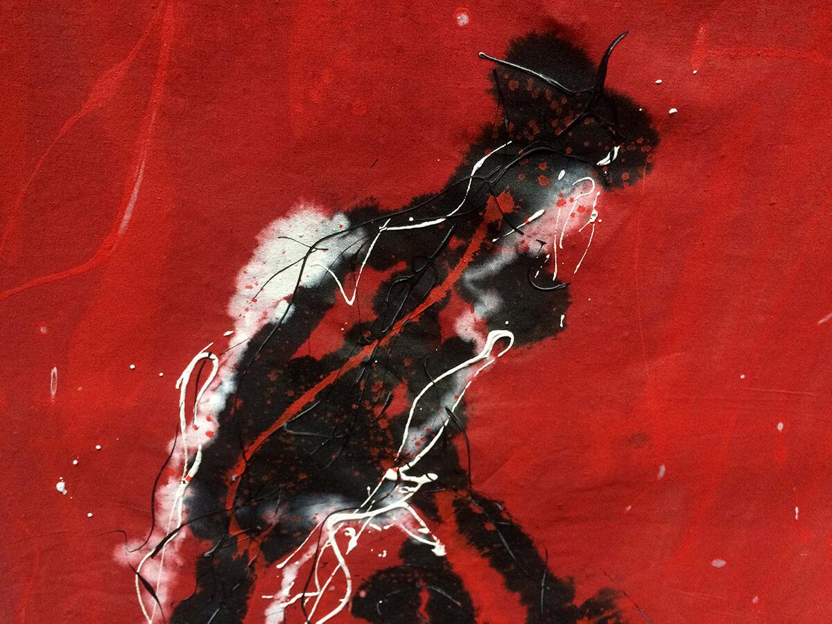 Early Works   Los toreros muertos (detail) - 1991