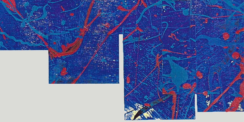 Post-it Art | Questione di vita o di sorte (detail) - 1997