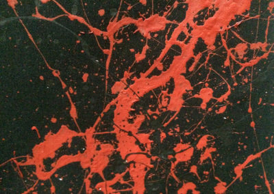 Early Works | Who loves the sun (detail-black) - 1991