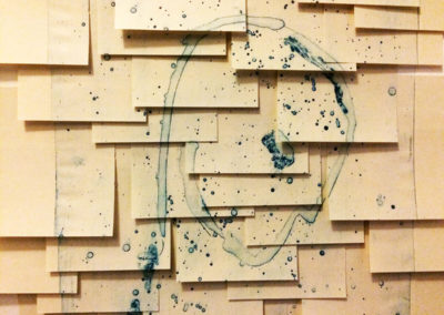 Post-it Art | Alien Life Form (detail) - 1998