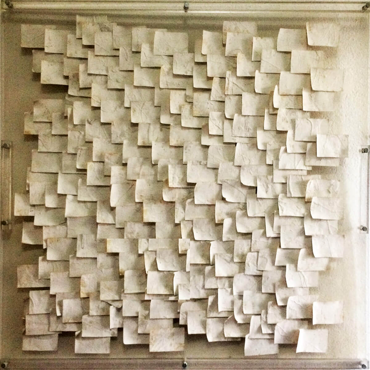 Post-it Art   Silence - 1994
