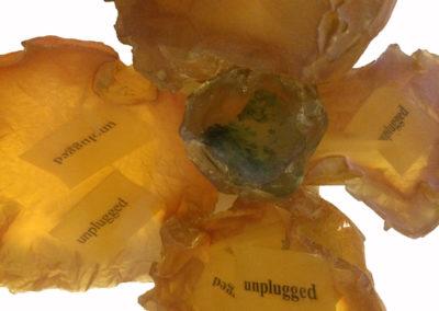 Unplugged meteorites (detail)