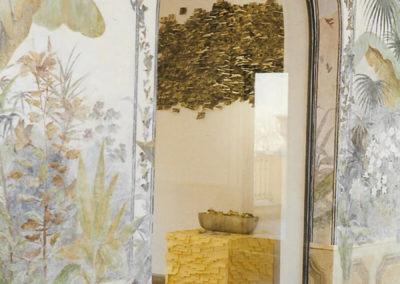Untitled with city smog (detail) / Villa Mazzanti installation