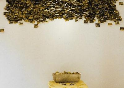 Untitled with city smog / Villa Mazzanti installation