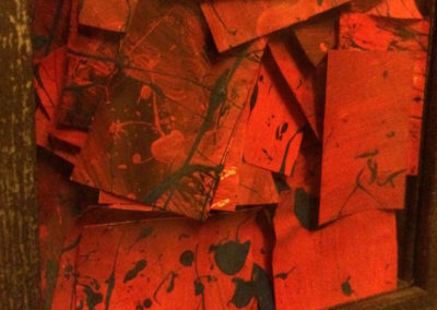 Post-it Art | Box of reds (detail) - 2002