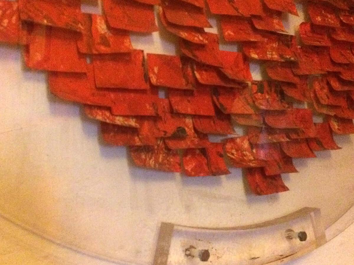 Post-it Art   Las ruinas circulares (detail) - 1994