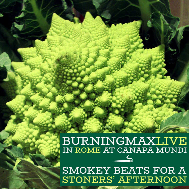 Smokey Beats for a Stoners' Afternoon – Live in Rome at Canapa Mundi