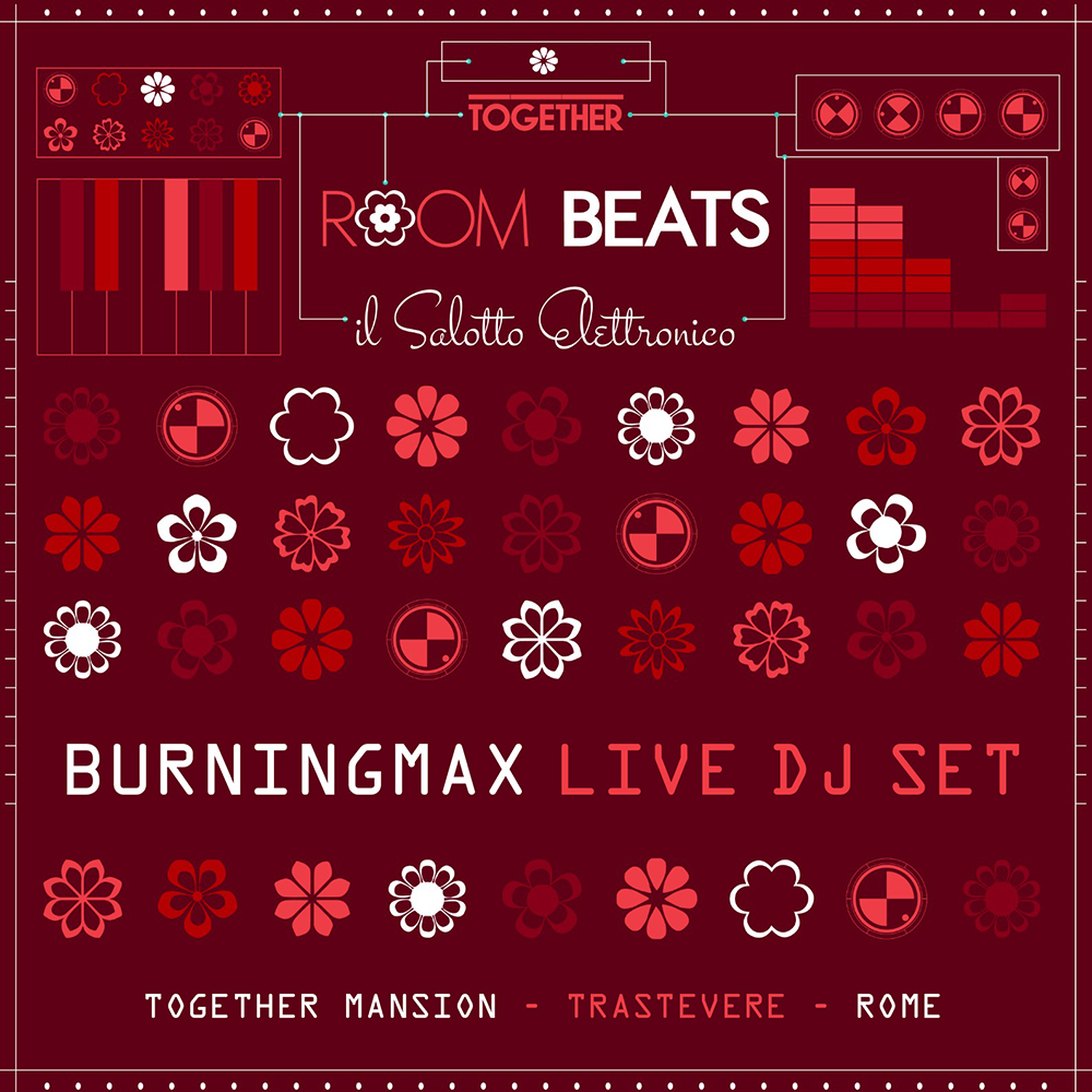 ROOM BEATS – Live at the Together Mansion in Rome